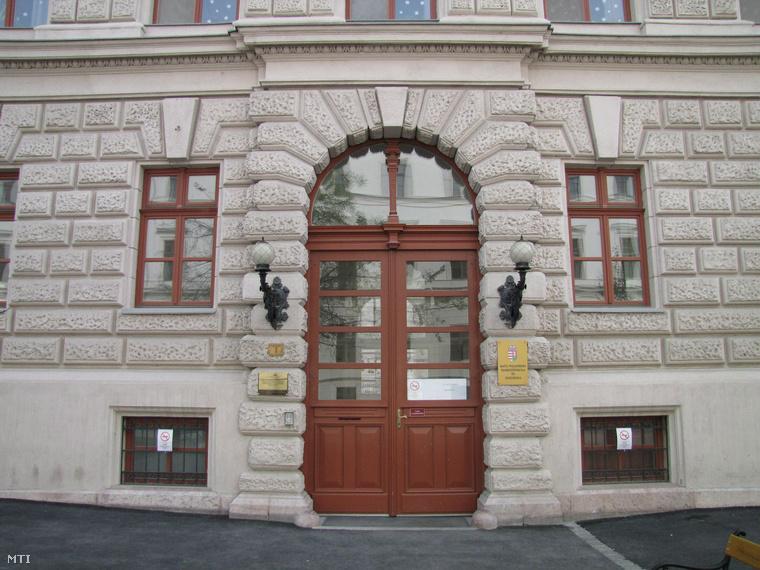 A szakközépiskola mostani épülete