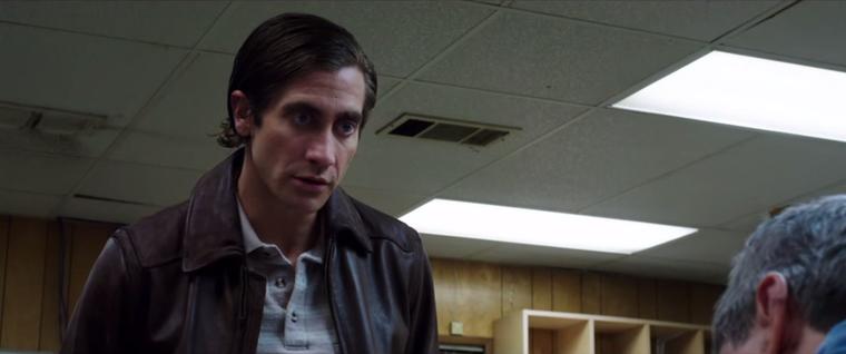 Az Éjjeli féregben Gyllenhaal biztos magától is megijedt