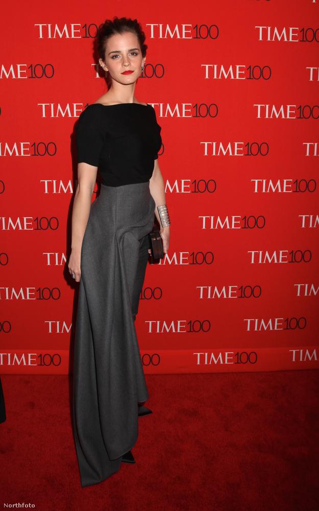 Emma Watson pedig felkerült a Time legbefolyásosabb embereinek listájára