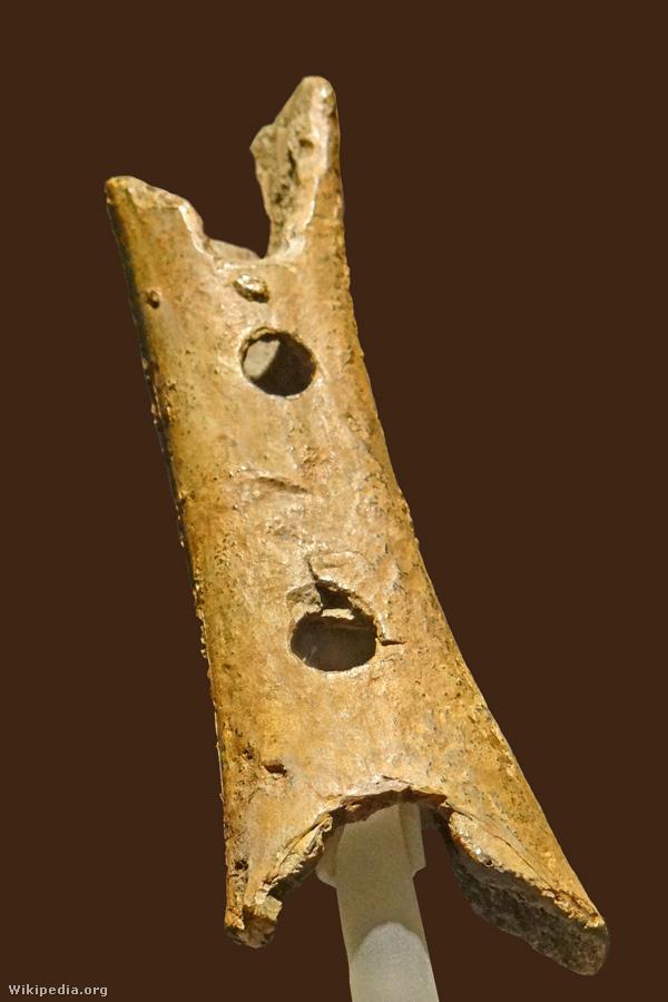 A világ legrégebbinek tartott hangszere, a Divje Babe furulya