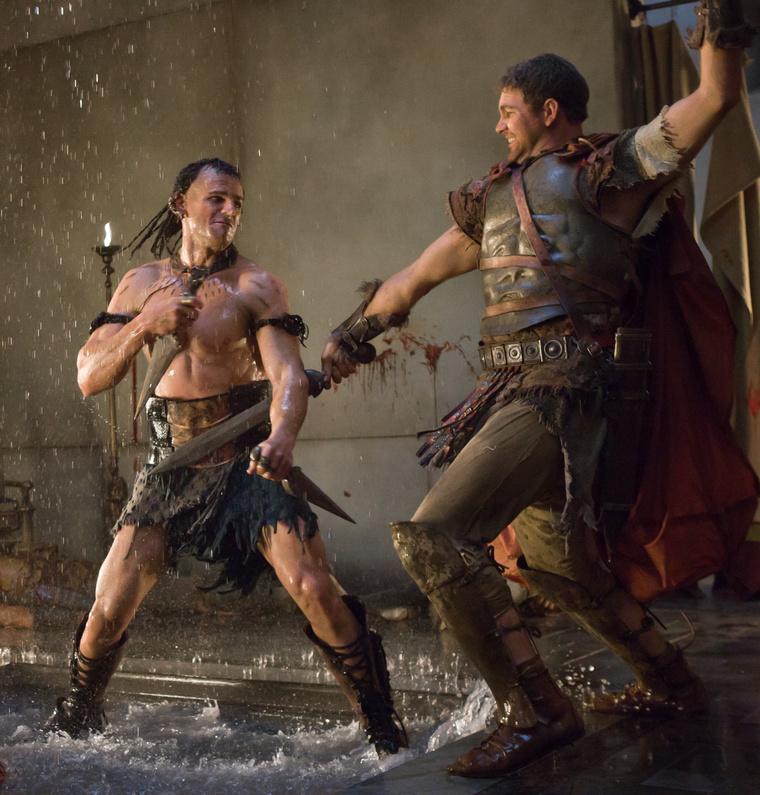 Képek a Spartacus: A bosszú című évadból