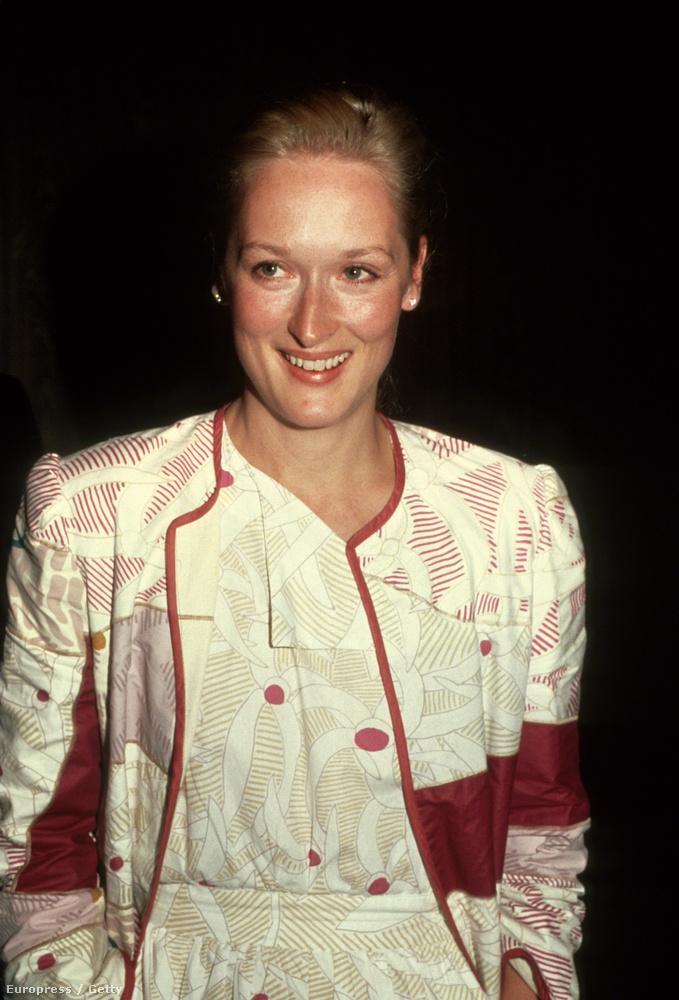 Meryl Streep pedig így nézett ki 1981-ben, amikor ugyanannyi idős volt, mint most a lánya.