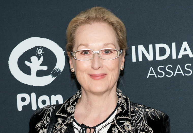 Ő itt Meryl Streep idén márciusban.