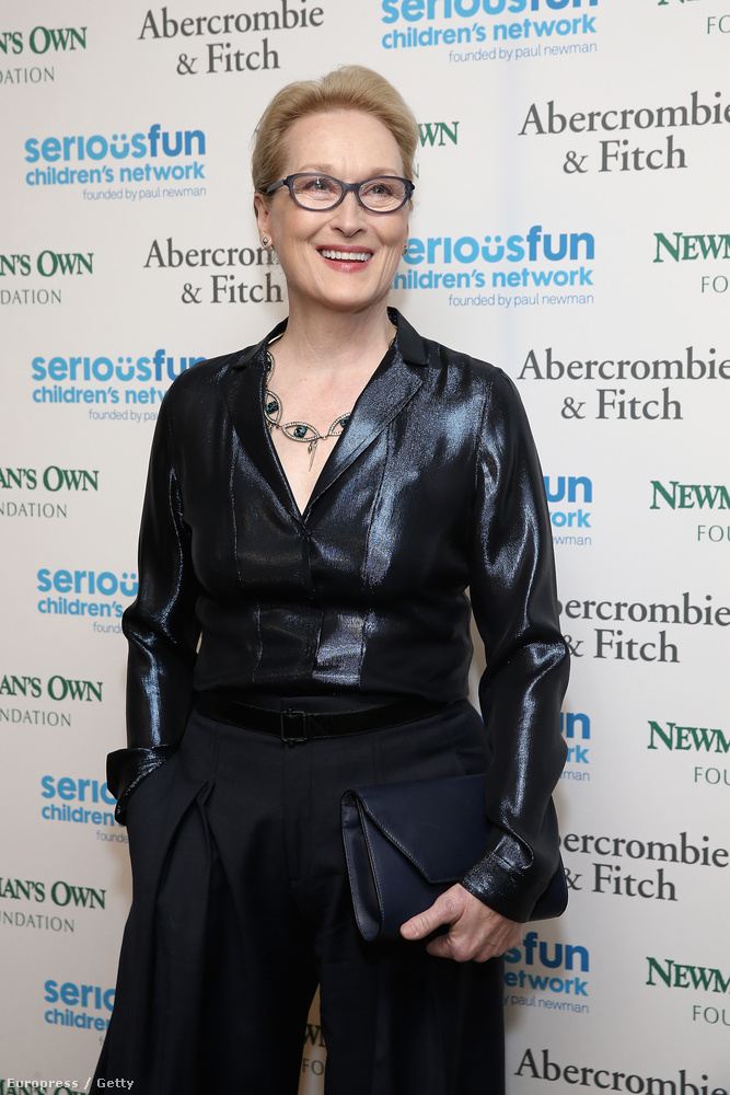 Meryl Streep 66 éves.