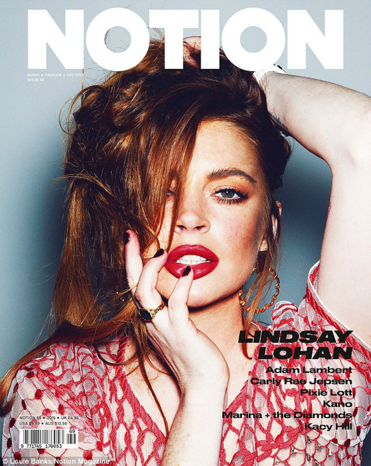 27E15C8B00000578-3051590-Cover girl Lindsay Lohan was one of fou