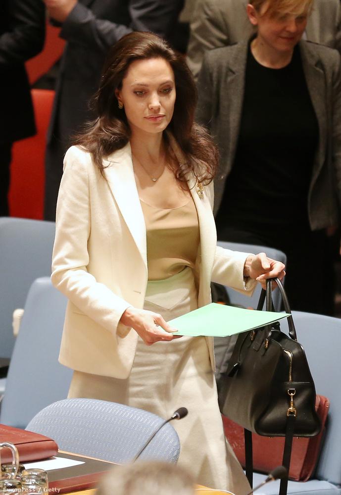 ...de az ENSZ előtt már kissé meglepő vállalás.