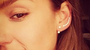 Jessica Alba smink nélkül is gyönyörű