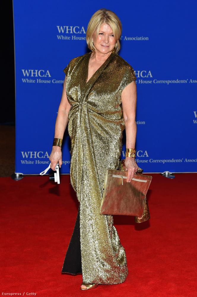 Martha Stewart is megjelent.