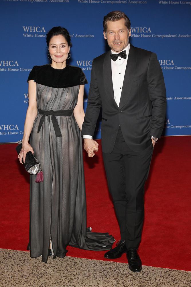 Jamie Lannister, azaz Nikolaj Coster-Waldau és grönlandi felesége látható a fotón