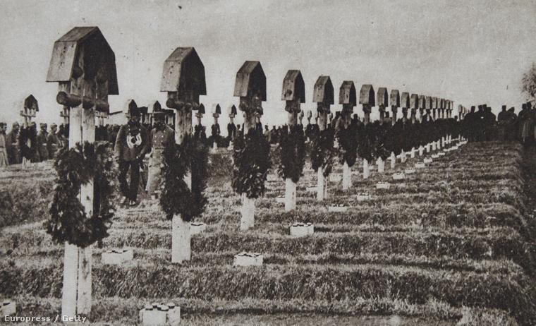 A Hősök temetője Gorlicében