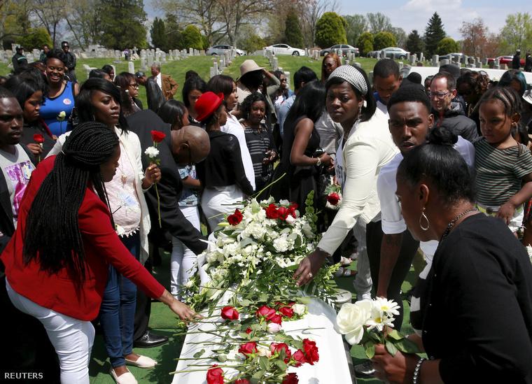 Freddie Gray temetése