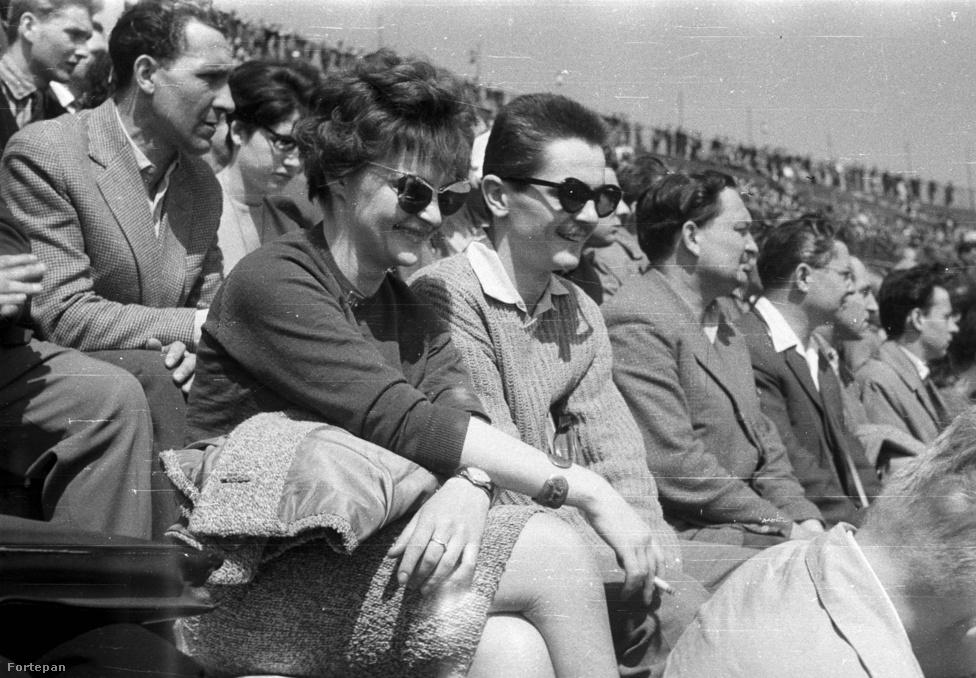 """""""Gizike, hogy mi az a les? Fogalmam sincs.""""                         Népstadion, 1965."""