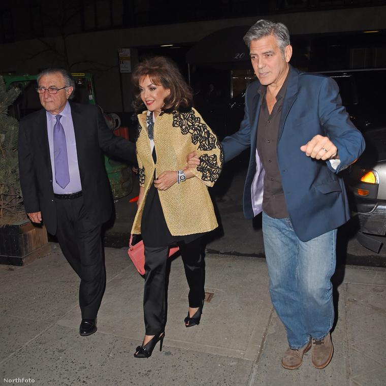 George Clooney közel egyidős lehet a szülőkkel