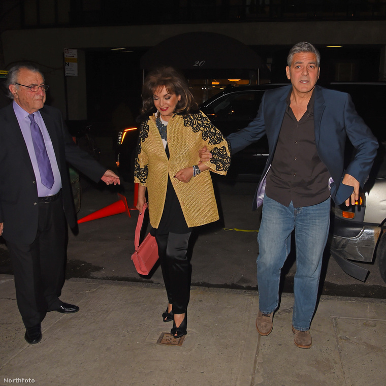 George Clooney alkaron ragadta anyósát, és úgy mentek enni