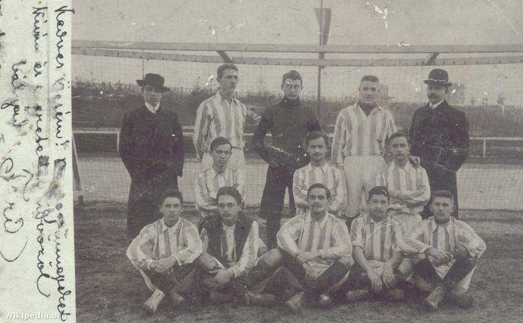 Az FTC 1903. évi labdarúgó bajnokcsapata