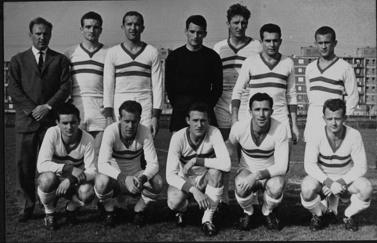 A Győri ETO 1963-as bajnokcsapata