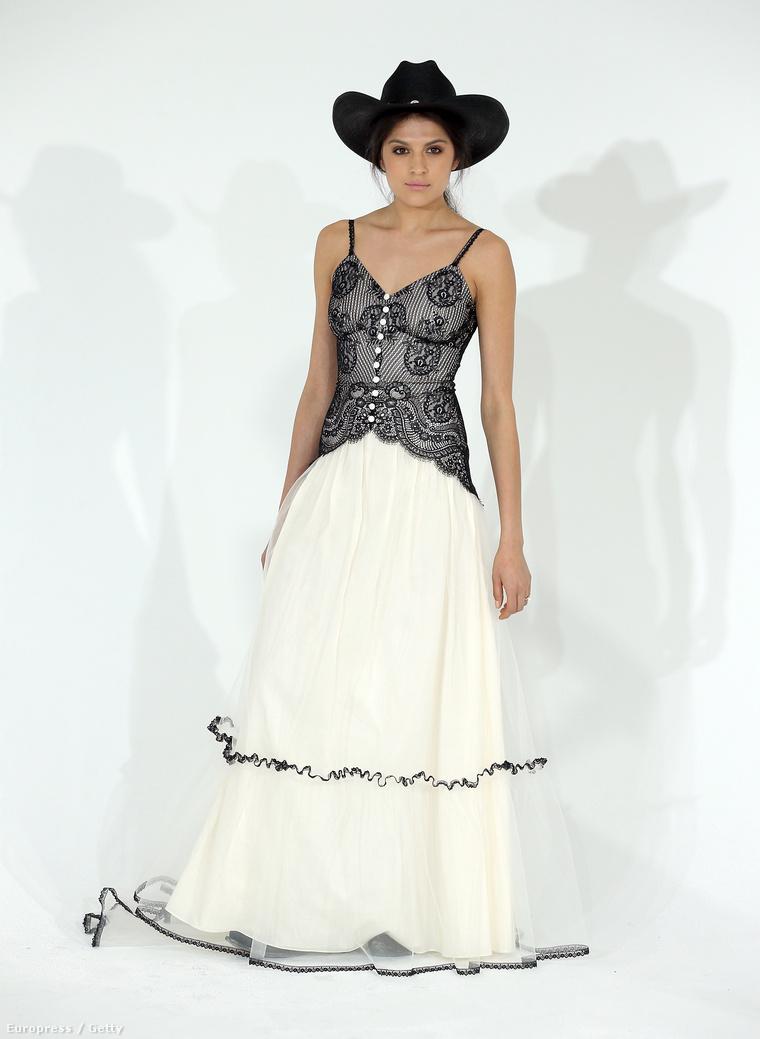 Claire Pettibone divattervező szerint ezek menyasszonyi ruhák