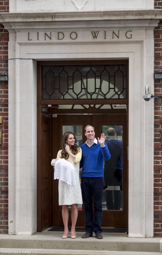 Szombaton, helyi idő szerint fél 9-kor született meg Vilmos herceg és Katalin hercegné második gyereke