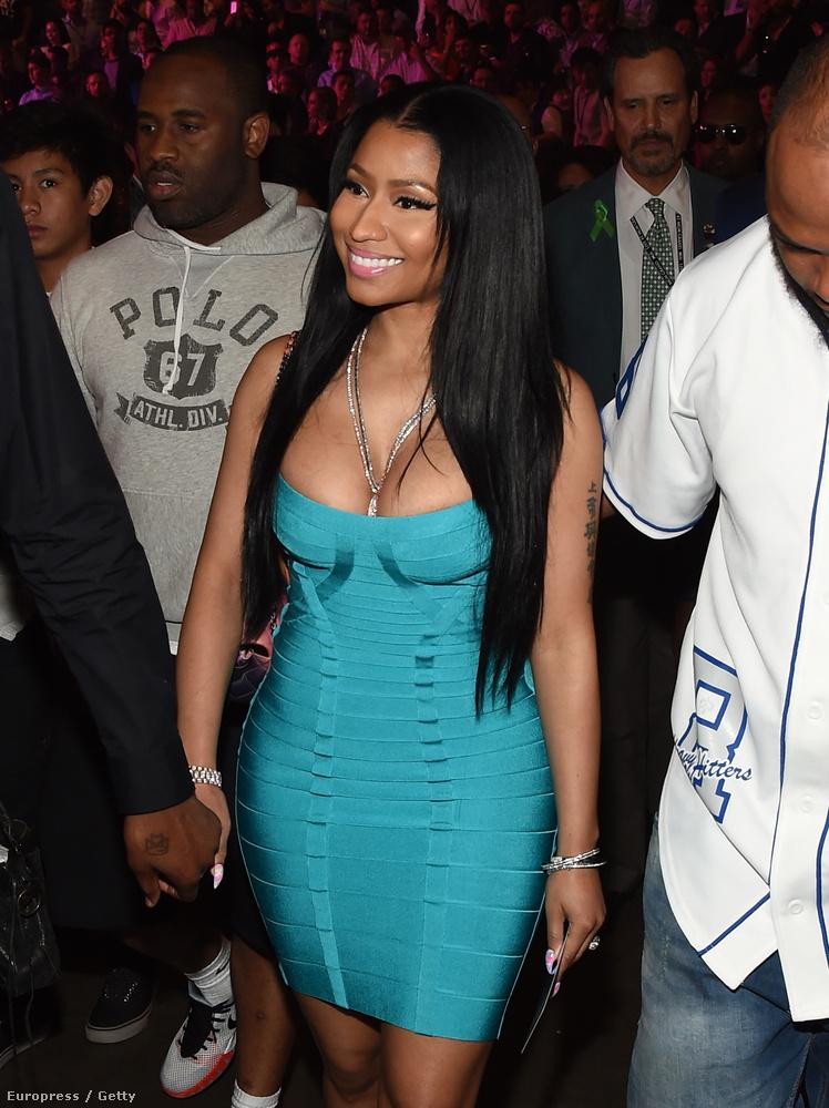 Nicki Minaj is az előző vonalat erősíti