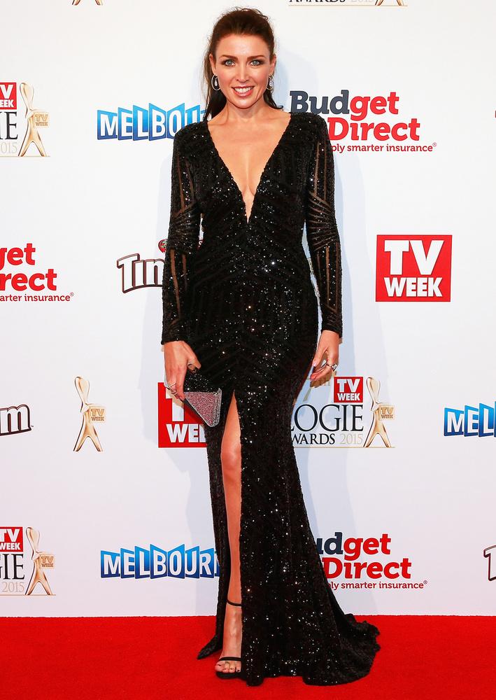 Vasárnap rendezték meg a 2015-ös Logie-gálát, ahol természetesen Dannii Minogue is tiszteletlét tette