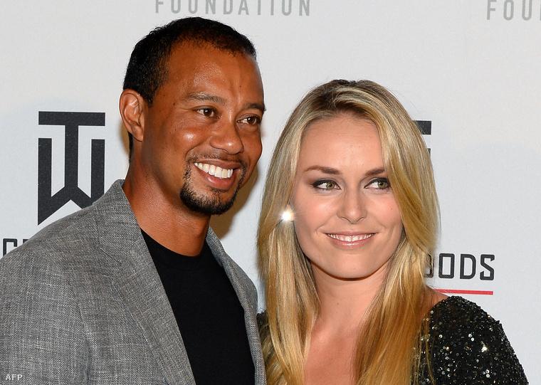 Tiger Woods és Lindsey Vonn