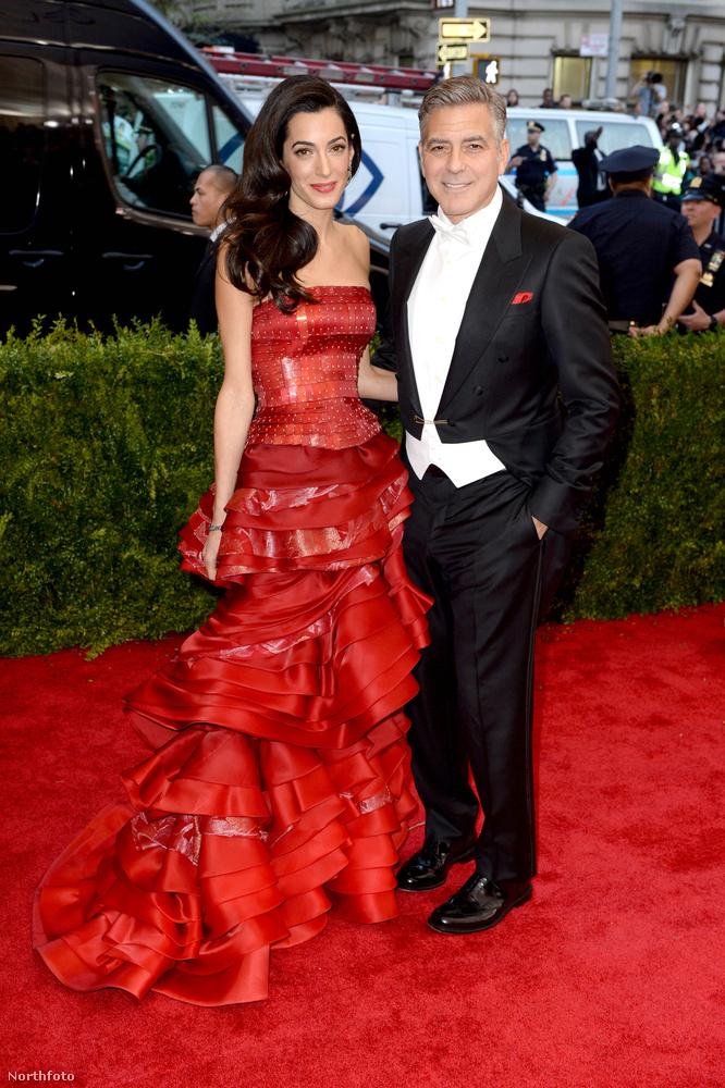 Más: férje, George Clooney színész láthatóan egyre kevésbé értékeli a kitüntetett figyelmet.