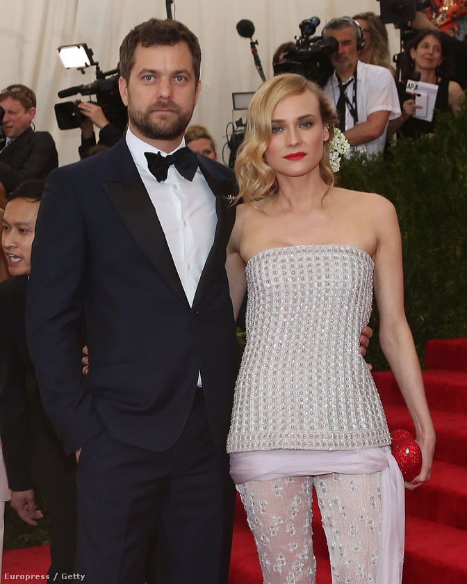 Álompár: Diane Kruger és Joshua Jackson szettója nem volt olyan drámai, mint például Sarah Jessica Parker fejdísze.