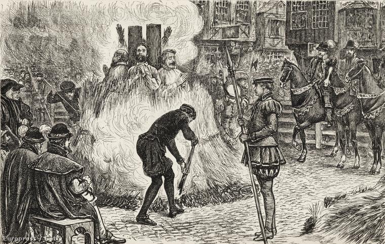 Eretnekek a máglyán a 16. századi Angliában