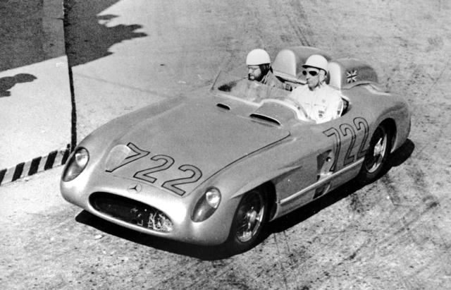 Moss és Jenkinson a legendás Mille Miglia-győzelem felé