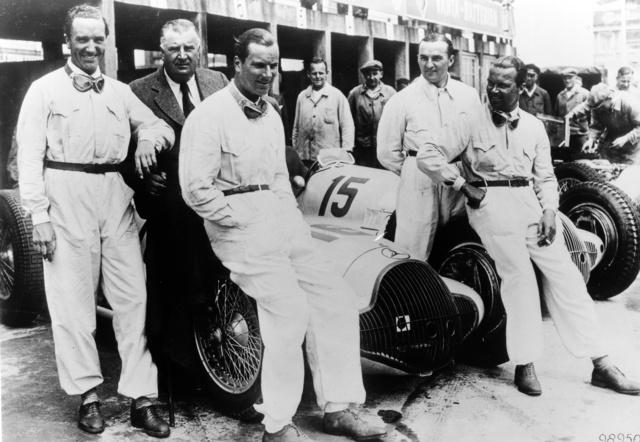 1938. július 24., Német Nagydíj. Von Brauchitsch, Neubauer, Seaman, Lang, Caracciola