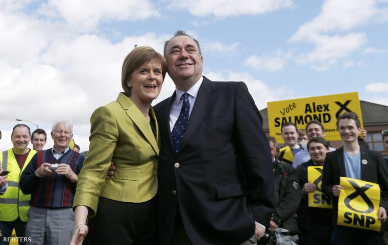 Alex Salmond és Nicola Sturgeon
