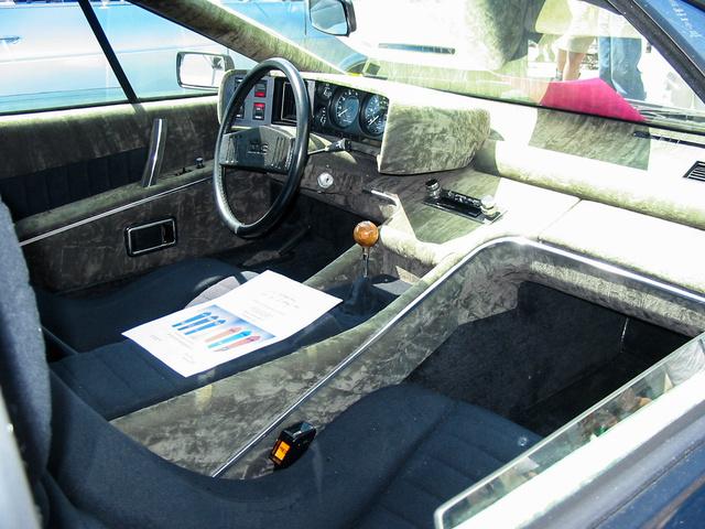 Korai Lotus Esprit belső tér