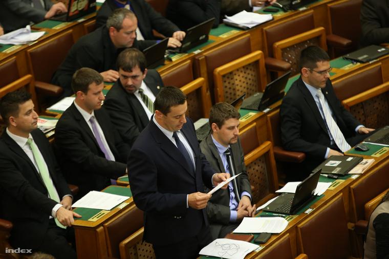 Bitay felszólalása a Parlamentben
