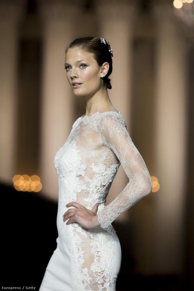 Az ő neve Constance Jablonski, és ő is ilyen szép volt menyasszonyként
