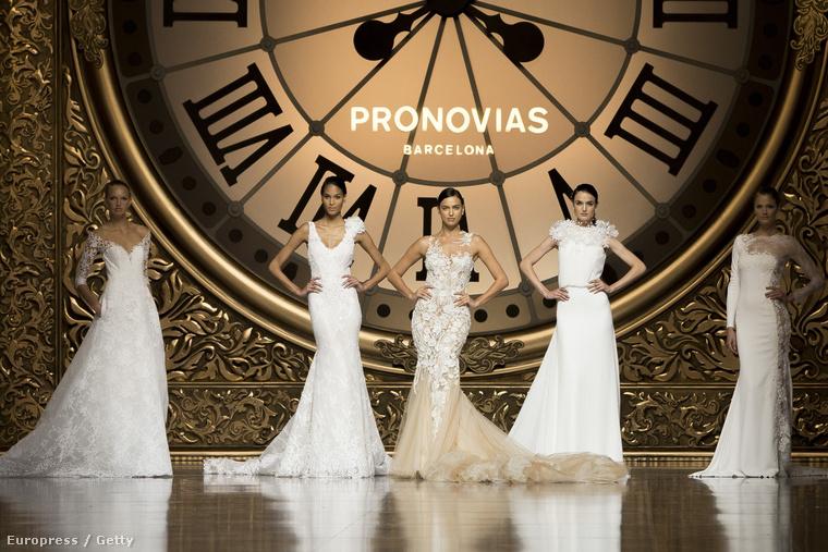 A hétvégén ért véget az esküvői divathét Barcelonában