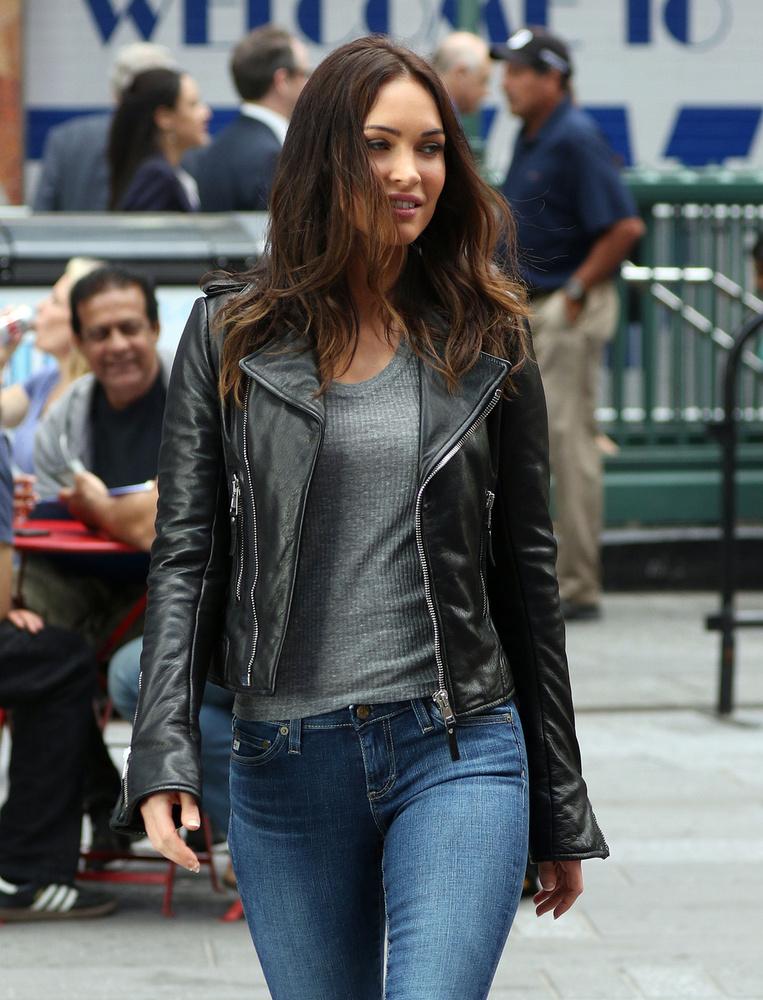 Megan Fox a Tini Nindzsa teknőcök forgatásán járt.