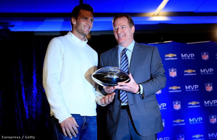 Tom Brady Roger Goodell oldalán