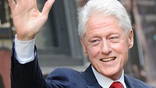 Bill Clinton ahogy öregszik, annál megnyerőbb