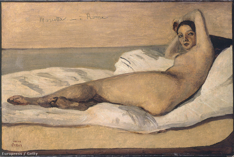Corot festette ezt a feneket