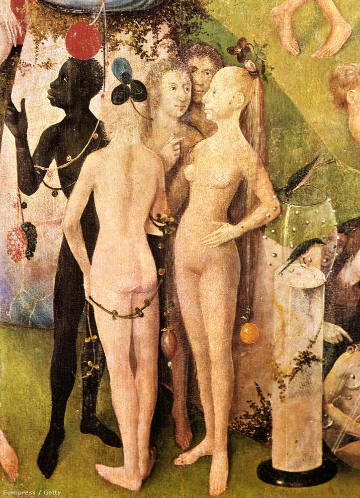 Nagyjából 15 év van Botticelli és a németalföldi Bosch festménye között, ezek a nők mégis teljesen különböznek Vénusztól