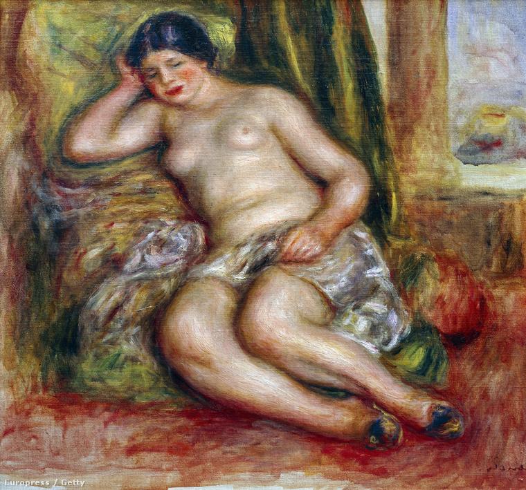 Renoir aktja 1915 körül készült