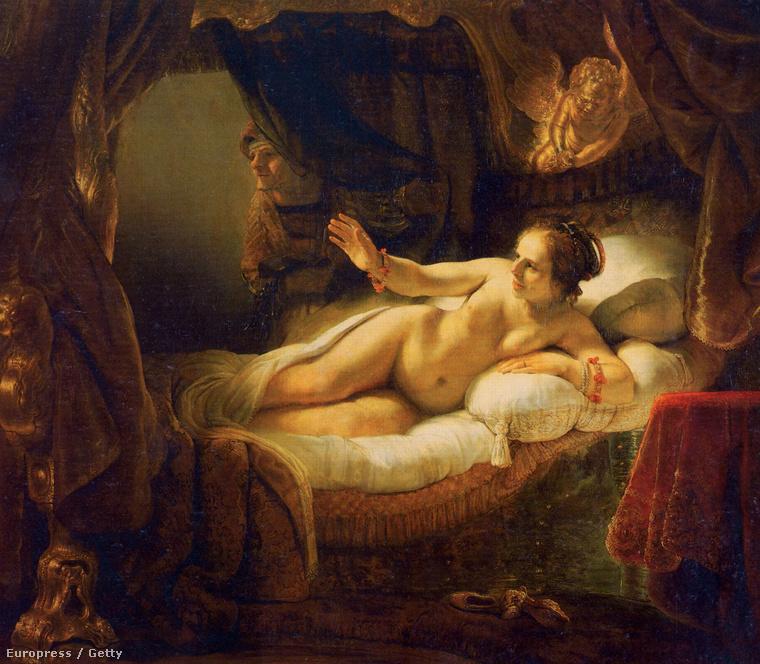Tudja, kit vár éppen a fekvő nő (Danaé)?Nem mást, mint Zeuszt