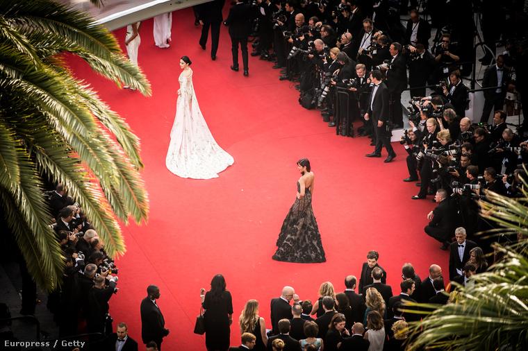 Többek között azért jó a Cannes-i filmfesztivál, mert ennek az eseménynek a vörös szőnyegén nem alulöltözött és egymással ribanckodásban versengő celebnők vonulnak fel, hanem egyszerűen szép nők, ízléses ruhákban.