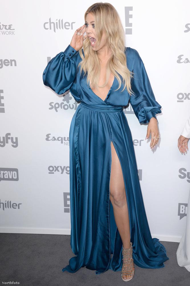 Khloe Kardashian pedig lehet, hogy ezen lepődött meg annyira, hogy ezt az arckifejezést produkálta
