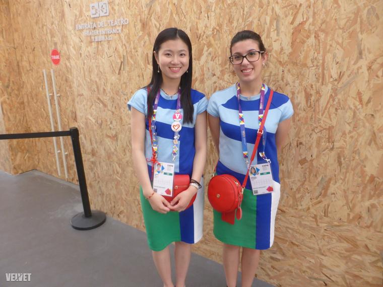 Lányok Kína képviseletében