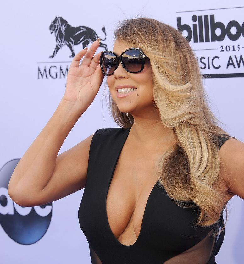 Nehéz Mariah Carey szemébe nézni és ez így lenne akkor is, ha nem viselne napszemüveget