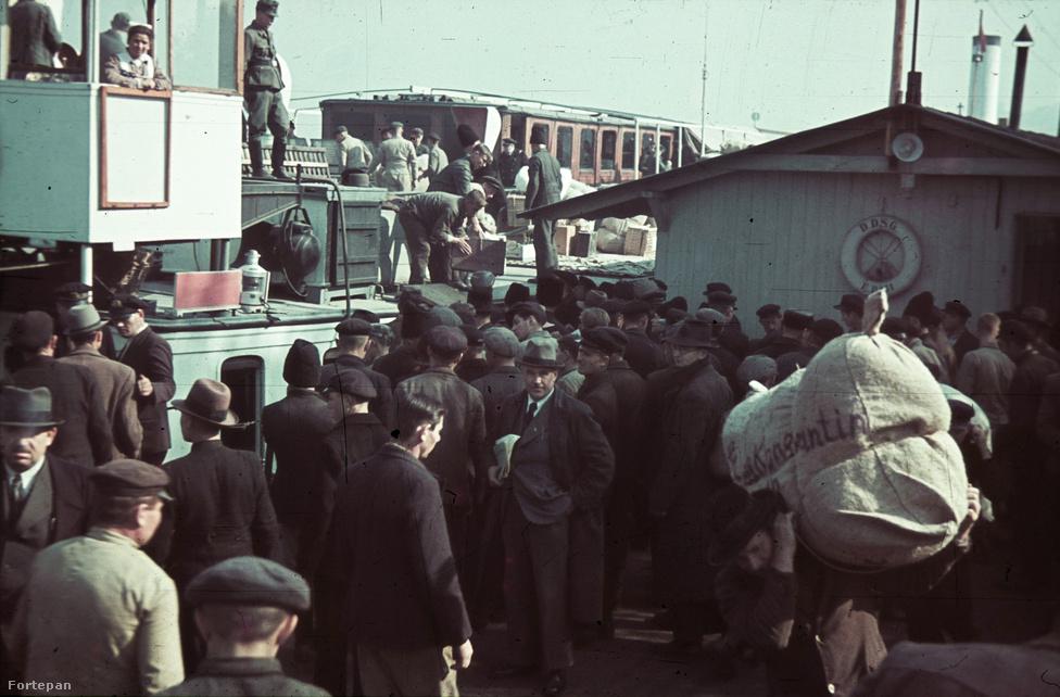 Amikor a besszarábiai németeket szállító hajók úsztak felfelé, nem volt még nálunk háború, a tömeges menekülés képei sem lehettek még unalmassá. A németeket szállító hajók egy évvel korábban az antiszemitizmus elől Palesztinába induló ortodox zsidókat vittek, majd az országuk kettős lerohanása elől érkező lengyelek kerültek Magyarországra, de az ország még néhány hónapig nem volt hadviselő fél.
