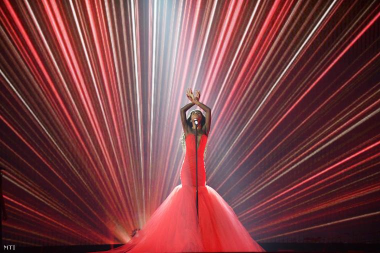 A tavalyi győztes, Conchita Wurst Bécsben