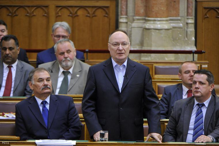 Burány Sándor, az Országgyűlés költségvetési bizottságának MSZP-s elnöke