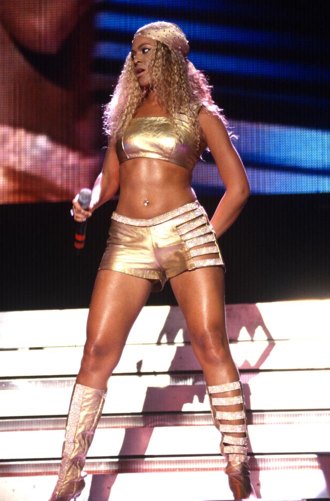 Amikor még a Destiny's Child létezett, Beyoncé aranyban haknizott